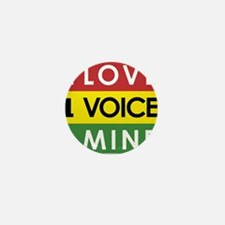 NEW-One-Love-voice-mind3 Mini Button