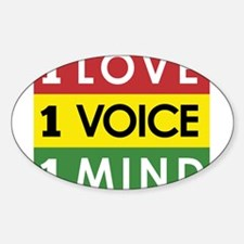 NEW-One-Love-voice-mind3 Decal