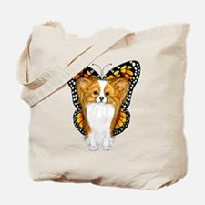 Papillon In Disguise Tote Bag
