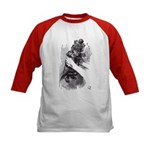 Red Queen/Kitten Kids Baseball Jersey
