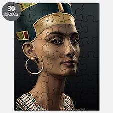 9X12-Sml-framed-print-Nefertiti Puzzle