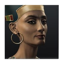 9X12-Sml-framed-print-Nefertiti Tile Coaster