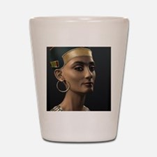 9X12-Sml-framed-print-Nefertiti Shot Glass