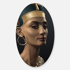 16X20-Small-Poster-Nefertiti Sticker (Oval)