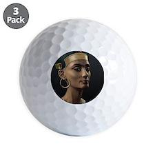 16X20-Small-Poster-Nefertiti Golf Ball