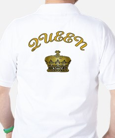 Queen with Crown Golf Shirt