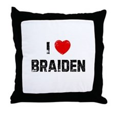 I * Braiden Throw Pillow