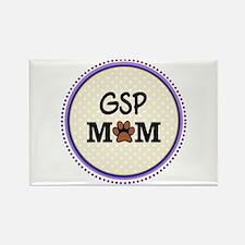 GSP Dog Mom Magnets