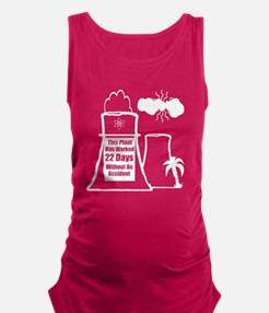 Funny Nuclear Maternity Tank Top