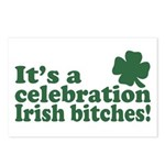 It's a celebration Irish Bitches Postcards (Packag