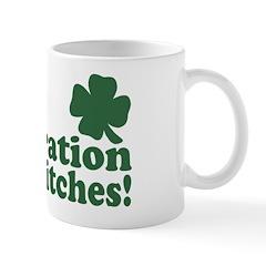 It's a celebration Irish Bitches Mug