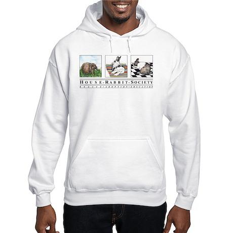 Three Bunnies Hooded Sweatshirt