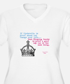 Sleeping Beauty Plus Size T-Shirt