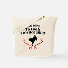 Karelian Bear Dog Tote Bag