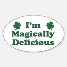 I'm Magically Delicious Oval Decal
