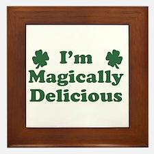I'm Magically Delicious Framed Tile