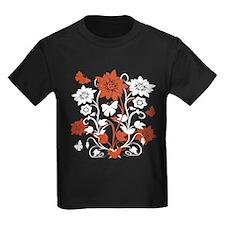 orangefloral T-Shirt