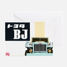 TEQ BJ Greeting Card
