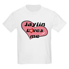 jaylin loves me Kids T-Shirt