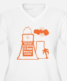 Funny Nuclear Plus Size T-Shirt