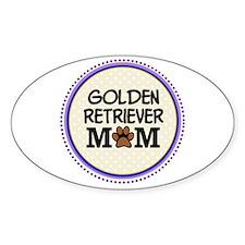 Golden Retriever Dog Mom Decal