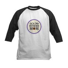 Golden Retriever Dog Mom Baseball Jersey