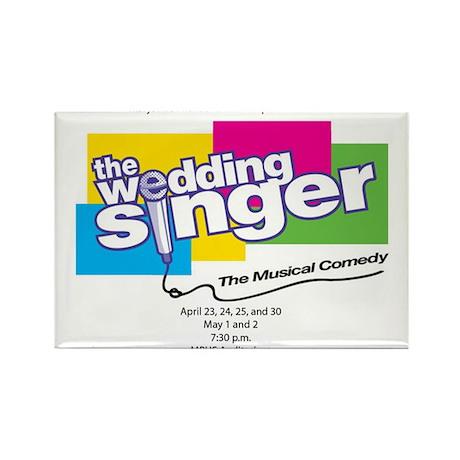 large-wedding-singer-shirt Magnets