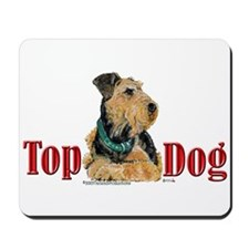 Airedale - Top Dog Mousepad