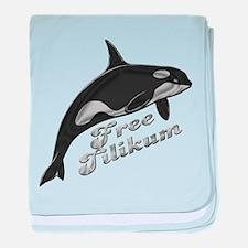 Free Tilikum baby blanket