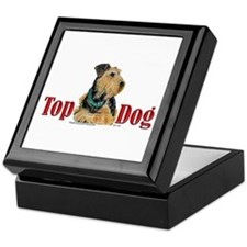 Airedale - Top Dog Keepsake Box