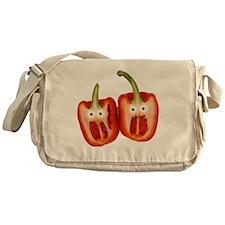 Screaming Peppers Messenger Bag