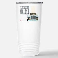 TEQ BJ faded Stainless Steel Travel Mug