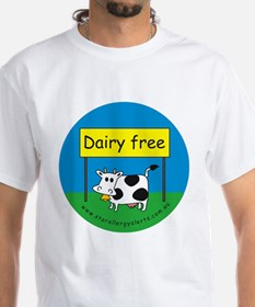 Dairy free-allergy aler T-Shirt