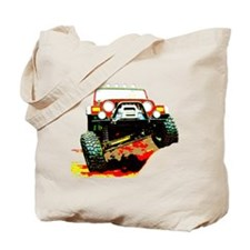 Jeep rock crawling Tote Bag