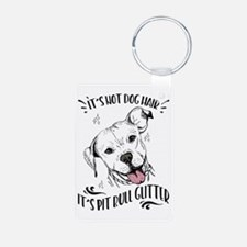It's Not Dog Hair Pit Bull Keychains