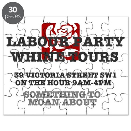LAABOUR PARTY WHINE TOURS Puzzle