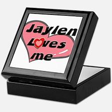 jaylen loves me Keepsake Box