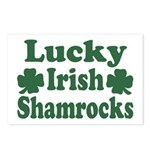 Lucky Irish Shamrocks Postcards (Package of 8)