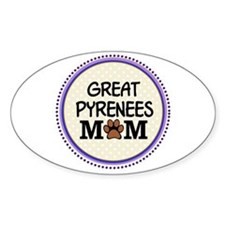 Great Pyrenees Dog Mom Decal