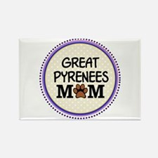 Great Pyrenees Dog Mom Magnets
