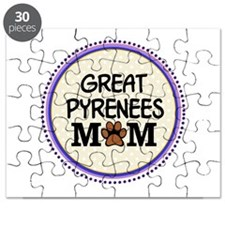Great Pyrenees Dog Mom Puzzle