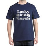 Lucky Irish Shamrocks Dark T-Shirt