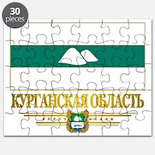 Kurgan Oblast Flag Puzzle