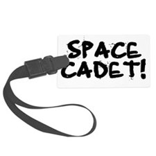 SPACE CADET Luggage Tag