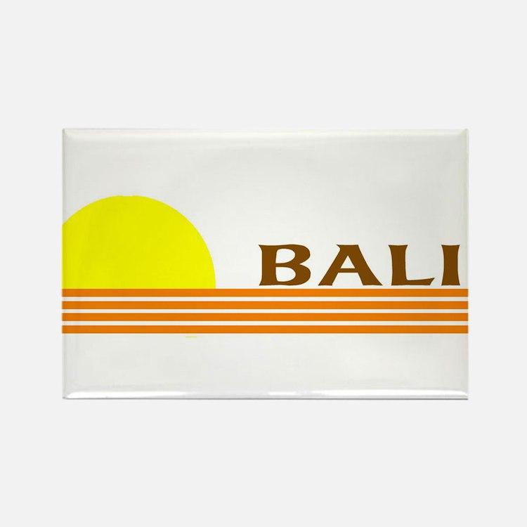 Cute Bali Rectangle Magnet