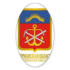 Murmansk Oblast COA Decal