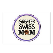 Greater Swiss Dog Mom Postcards (Package of 8)