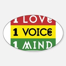 NEW-One-Love-voice-mind3b Decal