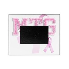 MTG initials, Pink Ribbon, Picture Frame