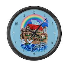 Noah's Ark Large Wall Clock